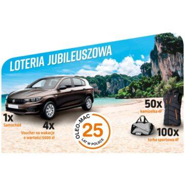 Weź udział w loterii i wygraj samochód!