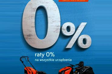 RATY 0 % NA WSZYSTKIE URZĄDZENIA OLEO-MAC!