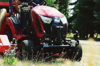 Kosiarka samojezdna T194M – promocja